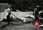 Image of group camping Maryland United States USA, 1921, second 41 stock footage video 65675032008