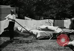 Image of group camping Maryland United States USA, 1921, second 42 stock footage video 65675032008