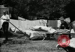 Image of group camping Maryland United States USA, 1921, second 43 stock footage video 65675032008