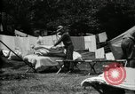 Image of group camping Maryland United States USA, 1921, second 45 stock footage video 65675032008