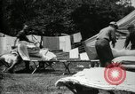 Image of group camping Maryland United States USA, 1921, second 48 stock footage video 65675032008