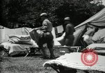 Image of group camping Maryland United States USA, 1921, second 50 stock footage video 65675032008