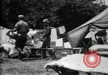 Image of group camping Maryland United States USA, 1921, second 51 stock footage video 65675032008