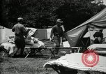 Image of group camping Maryland United States USA, 1921, second 52 stock footage video 65675032008