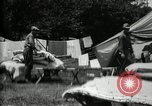 Image of group camping Maryland United States USA, 1921, second 53 stock footage video 65675032008