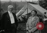 Image of group camping Maryland United States USA, 1921, second 61 stock footage video 65675032008