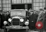 Image of Ford Model A car Detroit Michigan USA, 1927, second 28 stock footage video 65675032012