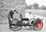 Image of quadricycle Detroit Michigan USA, 1927, second 20 stock footage video 65675032013
