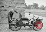 Image of quadricycle Detroit Michigan USA, 1927, second 22 stock footage video 65675032013