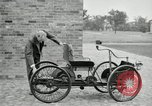 Image of quadricycle Detroit Michigan USA, 1927, second 24 stock footage video 65675032013