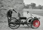 Image of quadricycle Detroit Michigan USA, 1927, second 26 stock footage video 65675032013