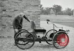 Image of quadricycle Detroit Michigan USA, 1927, second 27 stock footage video 65675032013