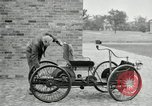 Image of quadricycle Detroit Michigan USA, 1927, second 30 stock footage video 65675032013