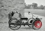 Image of quadricycle Detroit Michigan USA, 1927, second 32 stock footage video 65675032013