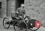 Image of quadricycle Detroit Michigan USA, 1927, second 37 stock footage video 65675032013