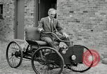 Image of quadricycle Detroit Michigan USA, 1927, second 40 stock footage video 65675032013