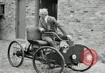 Image of quadricycle Detroit Michigan USA, 1927, second 50 stock footage video 65675032013