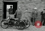 Image of quadricycle Detroit Michigan USA, 1927, second 3 stock footage video 65675032015