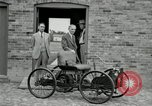Image of quadricycle Detroit Michigan USA, 1927, second 8 stock footage video 65675032015