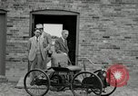 Image of quadricycle Detroit Michigan USA, 1927, second 14 stock footage video 65675032015