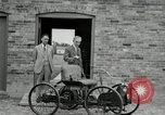 Image of quadricycle Detroit Michigan USA, 1927, second 17 stock footage video 65675032015