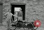 Image of quadricycle Detroit Michigan USA, 1927, second 23 stock footage video 65675032015