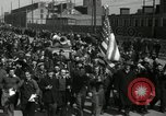 Image of Strike by labor of United Auto Workers Milwaukee Wisconsin USA, 1941, second 13 stock footage video 65675032020