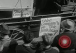 Image of Strike by labor of United Auto Workers Milwaukee Wisconsin USA, 1941, second 20 stock footage video 65675032020