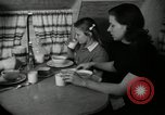 Image of trailer house North Carolina United States USA, 1941, second 25 stock footage video 65675032022