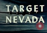 Image of atomic tests Nevada United States USA, 1958, second 21 stock footage video 65675032029