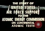 Image of atomic tests Nevada United States USA, 1958, second 25 stock footage video 65675032029