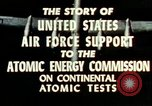 Image of atomic tests Nevada United States USA, 1958, second 26 stock footage video 65675032029