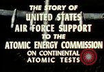 Image of atomic tests Nevada United States USA, 1958, second 28 stock footage video 65675032029