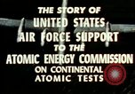 Image of atomic tests Nevada United States USA, 1958, second 29 stock footage video 65675032029