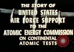 Image of atomic tests Nevada United States USA, 1958, second 30 stock footage video 65675032029