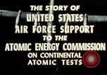 Image of atomic tests Nevada United States USA, 1958, second 31 stock footage video 65675032029