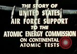 Image of atomic tests Nevada United States USA, 1958, second 32 stock footage video 65675032029