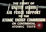 Image of atomic tests Nevada United States USA, 1958, second 33 stock footage video 65675032029