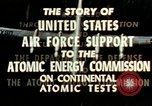 Image of atomic tests Nevada United States USA, 1958, second 35 stock footage video 65675032029