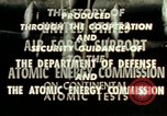 Image of atomic tests Nevada United States USA, 1958, second 36 stock footage video 65675032029