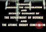 Image of atomic tests Nevada United States USA, 1958, second 37 stock footage video 65675032029
