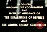 Image of atomic tests Nevada United States USA, 1958, second 40 stock footage video 65675032029