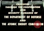 Image of atomic tests Nevada United States USA, 1958, second 45 stock footage video 65675032029