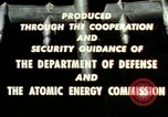 Image of atomic tests Nevada United States USA, 1958, second 46 stock footage video 65675032029