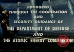 Image of atomic tests Nevada United States USA, 1958, second 48 stock footage video 65675032029