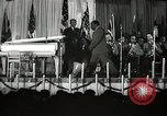 Image of Count Basie and Orchestra at Paul Robeson birthday party New York City USA, 1944, second 12 stock footage video 65675032041