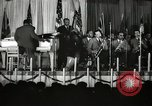 Image of Count Basie and Orchestra at Paul Robeson birthday party New York City USA, 1944, second 14 stock footage video 65675032041