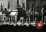 Image of Count Basie and Orchestra at Paul Robeson birthday party New York City USA, 1944, second 15 stock footage video 65675032041