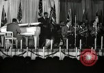 Image of Count Basie and Orchestra at Paul Robeson birthday party New York City USA, 1944, second 18 stock footage video 65675032041