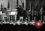 Image of Count Basie and Orchestra at Paul Robeson birthday party New York City USA, 1944, second 19 stock footage video 65675032041